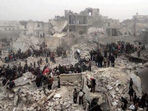 شام، امریکی اتحادی طیاروں کی بمباری، 40 عسکریت پسند ہلاک
