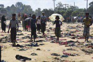 برمی مسلمانوں کی حالت زار۔۔۔ جو پانی مانگیں تو دریا کنارے ہوجائیں