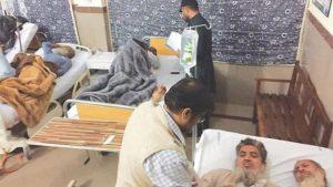 پاکستان: بس کھائی میں گرنے سے تبلیغ کے جانے والے 24 افراد شہید