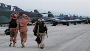 شام میں حمیمیم کے اڈے پر راکٹ باری میں 7 روسی طیارے تباہ: رپورٹ