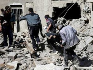 مشرقی غوطہ پر حملے جاری، مرنیوالوں کی تعداد1 ہزار سے زائد ہوگئی