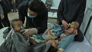شام: فورسز کی مشرقی غوطہ میں بمباری، مزید 70 افراد جاں بحق