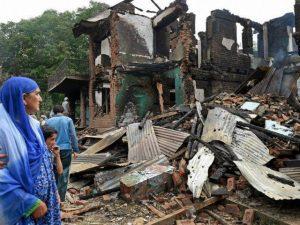 مقبوضہ کشمیر میں قابض فوج کے ہاتھوں مسلمانوں کے درجنوں گھر مسمار