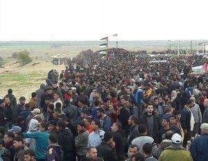 غزہ کی سرحد پر اسرائیل مخالف مظاہروں میں 40 فلسطینی زخمی
