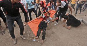 غزہ میں حق واپسی مارچ کے دوران اسرائیلی فائرنگ سے 284 فلسطینی شہید
