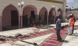 کوئٹہ: نمازِ جمعہ کے وقت مسجد میں دھماکا، 3 افراد شہید 20 زخمی