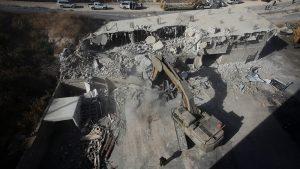 مقبوضہ بیت المقدس میں اسرائیلی فوج نے درجنوں مکانات گرا دیئے