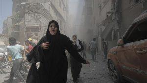 شام میں طبی مراکز پر بمباری، جھڑپوں میں مریضوں سمیت 100 سے زائد افراد جاں بحق
