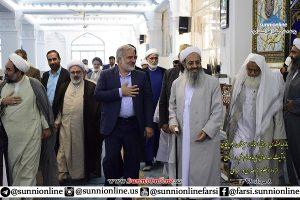 شیعہ علما سنی مدرسہ میں