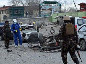 افغانستان میں پولیس ہیڈ کوارٹر پر خود کش حملے میں 28 افراد ہلاک، 100 زخمی