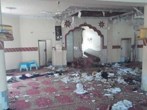 کوئٹہ میں مسجد کے اندر بم دھماکا، 5 افراد شہید اور 12 زخمی