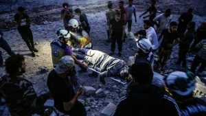 شامی اور روسی فوج کے صوبہ ادلب میں فضائی حملے،15 شہری جاں بحق