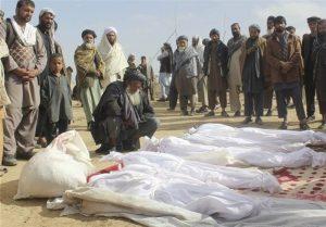 ڈرون حملے سے افغان شہریوں کا قتل عام