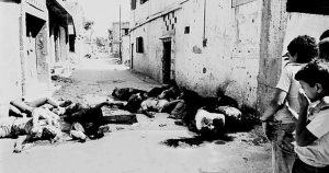 """""""صبرا و شاتیلا کا قتل عام انسانیت کے ماتھے پر بدنما داغ ہے"""""""