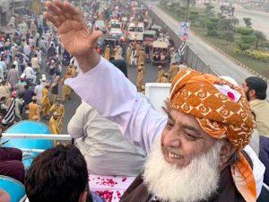 آزادی مارچ اب ایک قومی تحریک بن چکا: مولانا فضل الرحمان