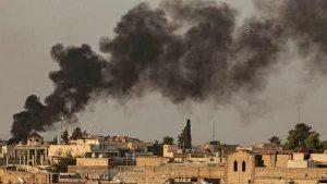شمالی شام میں فائر بندی کے سمجھوتے کے باوجود راس العین میں جھڑپیں اور گولہ باری