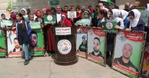 اسرائیلی زندانوں میں 540 فلسطینی عمرقید کے تحت پابند سلاسل