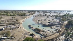ایرانی بلوچستان: تیز بارشیں اور سیلاب؛ کئی علاقے زیرآب