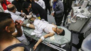 اسرائیلی فوج کی وحشیانہ دہشت گردی، غزہ فلسطینی شہید، تین زخمی