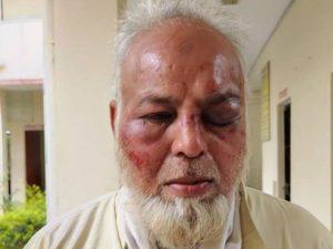 جے شری رام اور مودی زندہ باد نہ کہنے پر بزرگ مسلمان پر انتہا پسندوں کا تشدد