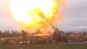 ناگورنو قرہباخ میں جنگ کے شعلے