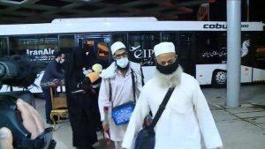 بھارت میں پھنسے تبلیغی جماعت کے ایرانی ارکان رہا ہوکر گھر پہنچ گئے