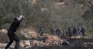 کفر قدوم میں قابض صہیونی فوجیوں کے ساتھ جھڑپوں کے دوران فلسطینی زخمی