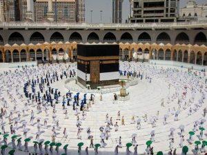 مسجد الحرام میں طواف القدوم کا آغاز، بیت اللہ میں لبیک اللھم لبیک کی صدائیں