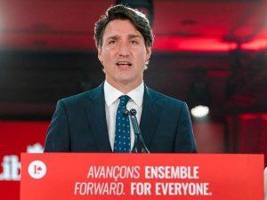 جسٹن ٹروڈو تیسری بار کینیڈا کے وزیراعظم بن گئے