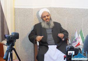فضيلة الشيخ عبد الحميد ينتقد التمييز ضد أهل السنة في إيران
