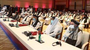 استئناف محادثات السلام بين الحكومة الأفغانية وطالبان