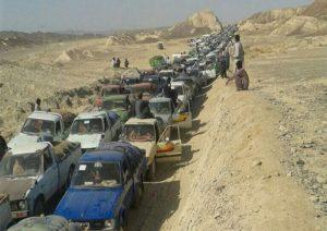 ایرانی تیل ءِ بارڈر ءِ بندش بلوچستان ءِ مهلوک ءِ معاشی کوش اَنت