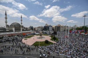 Istanbul's Taksim Mosque opens after decades of legal wrangling