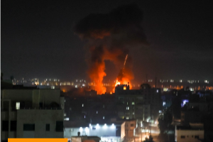 Israel launches air raids on Gaza, first since truce with Hamas