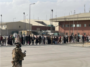 Taliban blocks Kabul airport to most as foreign airlifts wane
