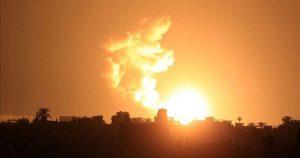 اسرائیلی جنگی طیاروں کی غزہ میں ایک بار پھر بمباری