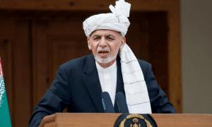 افغان صدر کا طالبان سے جنگ ختم کرنے، اقتدار میں شامل ہونے کا مطالبہ