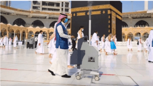 مسجد حرام میں پہلی تراویح اور معتمرین کے استقبال کے لیے کیا انتظامات کیے گئے ہیں؟