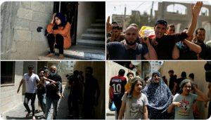عید سے پہلے فلسطینیوں پر قیامت، غزہ پر وحشیانہ بمباری