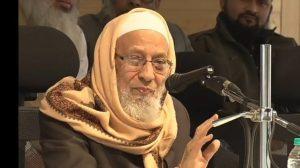 دارالعلوم دیوبند کے استاذ حدیث اور جمعیت علماء ہند کے صدر مولانا قاری عثمان منصورپوری انتقال
