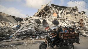 غزہ کے دورے کے دوران تباہی دیکھ کر شدید صدمہ پہنچا: سربراہ 'اونروا'