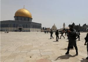 بیت المقدس : 3 ہفتوں بعد پہلی مرتبہ یہودی آباد کاروں کا مسجد اقصی پر دھاوا