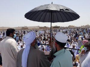 مولانا نظرمحمد دیدگاہؒ کی نماز جنازہ ادا؛ ہزاروں افراد شریک ہوئے